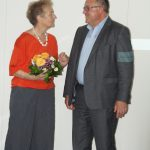 Schirmherrin Hertha Däubler-Gmelin mit Kuratoriumsvorsitzendem Frank Schönthaler